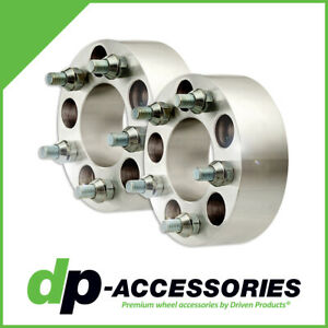 """2"""" Bolt-On Lug Centric Wheel Spacers 5x114.3 74mm by DP-Accessories - 2 Pack"""