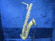 Vintage C.G. Conn 12M Cut Baritone Saxophone Ser#634316 Needs Overhaul