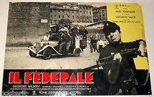 fotobusta film IL FEDERALE Ugo Tognazzi C.L.N. Luciano Salce 1961