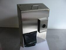 1 CWS  Hygienebehälter 755, Edelstahl, mit Halterung für Hygienebeutel