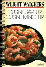 Livre Weight Watchers cuisine saveur cuisine minceur book