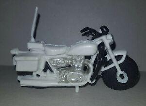 HARLEY-DAVIDSON  Plastic  MOTORBIKE vintage ARGENTINA 1970 TOY