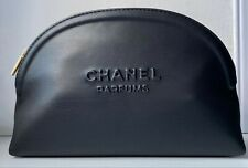CHANEL Cosmetic/makeup Bag Pouch Clutch Black 2020 VIP Gift