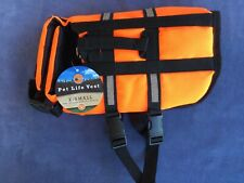 XS Dog Pet Life Vest Summer Boating Camping Swimming Bright Reflective Safety