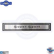 "67 Chevelle "" Super Sport "" Dash Panel Emblem - USA"