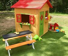 Cubby house Bertie timber wooden playhouse outdoor.