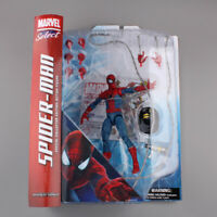 "Marvel Select The Amazing Spider-Man Action Figure Toy 7""  new in box"