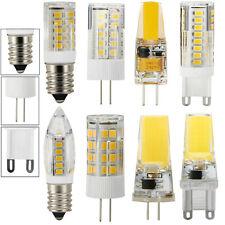 5X 10X G4 G9 E14 2W 3W 5W 7W LED Birne Lampe Stiftsockel Leuchtmittel Warm weiß