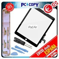 PANTALLA TACTIL PARA IPAD AIR NEGRA DIGITALIZADOR TOUCH SCREEN+ ADHESIVO Y H