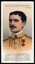 More details for taddy & co - 'victoria cross heroes (101-125)' - card #121 - lieut clement le...