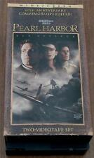 Gently Used VHS Video, Pearl Harbor, Ben Affleck, 60th Anniversary Edition, VGC