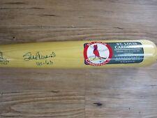 Stan Musial Autograph / Signed Coopertown Bat St. Louis Cardinals 41-63