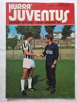 HURRA' JUVENTUS N. 9 SETTEMBRE 1978 + POSTER FANNA TRAPATTONI CABRINI BOTAFOGO
