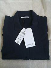Para Mujer Camisa Polo Lacoste Azul Marino Manga Corta UK16