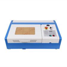 40W CO2 USB Lasergravur laser Schneiden Gravierfräsmaschine laserDRW Software