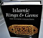 book:ISLAMIC RINGS AND GEMS The Benjamin Zucker Collection SIGNED BY BEN ZUCKER
