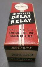 Amperite 26NO120T Thermostatic 120 Sec Time Delay Relay SPST NO Mini Base 26V