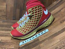 0c19fbb28a360 Nike Zoom Kobe 3 III Red Gold All Star Game Size 9.5 OG 318090-171