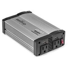 Bravo View INV-800U - 800-Watt Power Inverter with Dual USB Charging