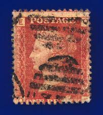 1879 SG43 1d Red Plate 224 G1 OE Misperf Good Used Cat £65 cxuk