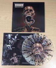 "Desecration - Process Of Decay 10"" SPLATTER Vinyl Brand NEW Uk Death Cannibal"