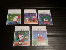 GIBRALTAR 2001 SG 989-993 CHRISTMAS MNH