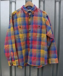"""Vintage Angelo Litrico Checked Shirt - Size 42"""" ** Retro 1980's / 90's **"""