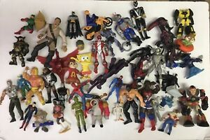 mixed action figure lot