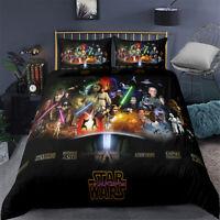 Single/Double/Queen/King Size Bed Doona/Duvet/Quilt Cover Star Wars Linen