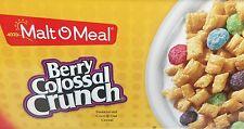 Malt O Meal Berry Colossal Crunch Cereal 38.5 oz Bag