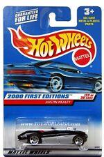 2000 Hot Wheels #92 First Edition Austin Healey blk/silver