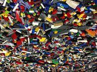 Lego 1-10 Pounds (LBS) Parts & Pieces HUGE BULK LOT Bricks Blocks Parts Minifigs