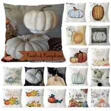 28Color Halloween almohada cubren almohada sofá suave caso cintura tiro cubierta