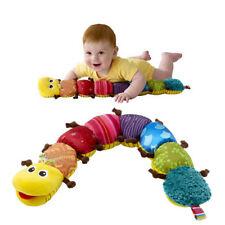 Baby Spielzeug mit Musik Wurm Raupe Lamaze Plüschtier Motorik Mehrfarbig