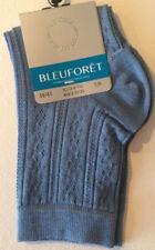 Socquettes Bleuforet 6715 Fil d'ecosse Cotton Fab. Francaise Taille 39/41 Bleu