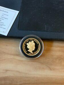 Gold Double Sovereign coin