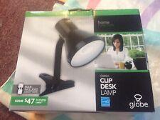 GLOBE Home Function Energy Star Classic Clip On Desk Lamp & Desk Lamp Set