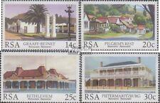 Zuid-Afrika 689-692 (volledige uitgave) gestempeld 1986 Restauratie Bouwen