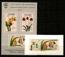 Colombia Scott 768-9,C489-91,C491a Mint NH (Catalog Value $39.70)