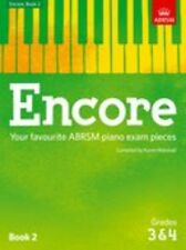 ABRSM: Encore - Book 2 (Grades 3 & 4) Piano Sheet Music Instrumental Album