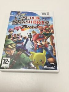 Wii Game Super Smash Bros Brawl