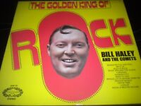 Bill Haley And The Comets - The Golden King Of Rock - Vinyl Record LP Album