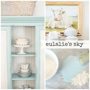 Miss Mustard Seed's Milk Paint - Eulalie's Sky - Sample Size furniture painting