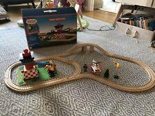 Thomas & Friends Wooden Railway Train Sodor Airfield Tiger Moth Plane & Airport
