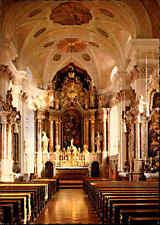 Kirchen Gebäude AK Innenansicht Kirche Dekanats-Pfarrkirche St. Johann in Tirol