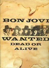 BON JOVI wanted dead or alive HOLLAND 12INCH 45 RPM 1986 EX