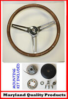 New! 1968-1972 Chrysler 300 Grant Wood Steering Wheel walnut 15 inch