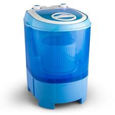 Lavadora Mini Centrifugado Secadora 2,8 Kg 180W Transparente Recogecables