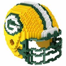 Green Bay Packers Team Helmet NFL Brxlz Puzzle 3d Construction Toy 1395 Pcs