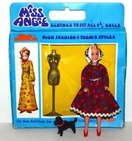 Vintage Topper Dawn Clone Girl Doll w/ Rare Minty Clone Fashion Dress,.! Lot 169